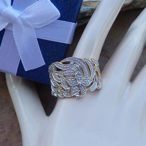 14k Gold over sterling silver Ring